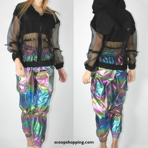 Colorful Casual Pants (Laser)