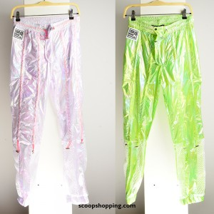Laser casual pants