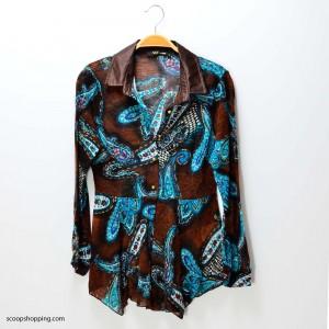 Blues embellished sleeve
