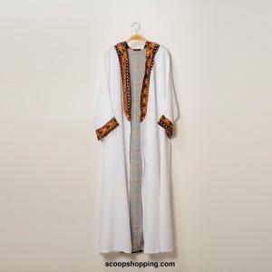 Abaya jacket decorations