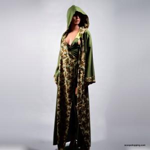 A soft wrap abaya
